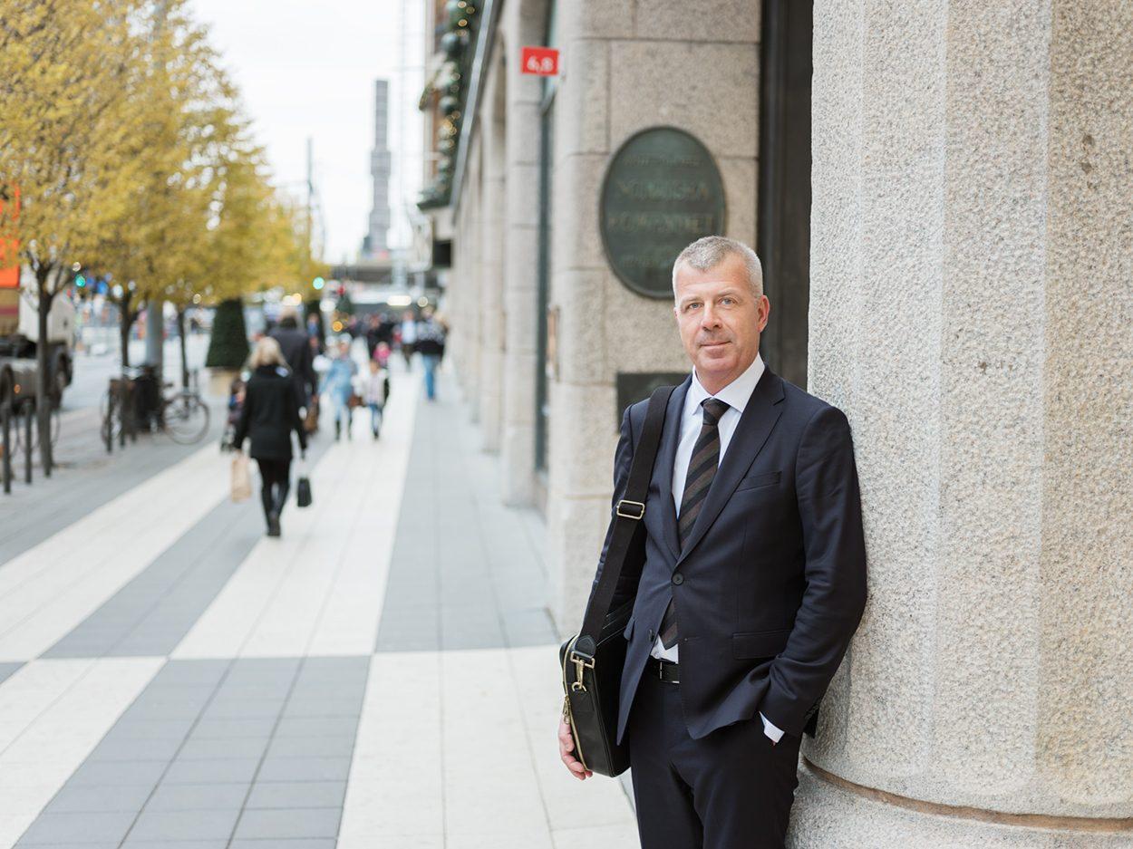 Foto på Ulf Mellqvist advokat processrätt Front Advokater