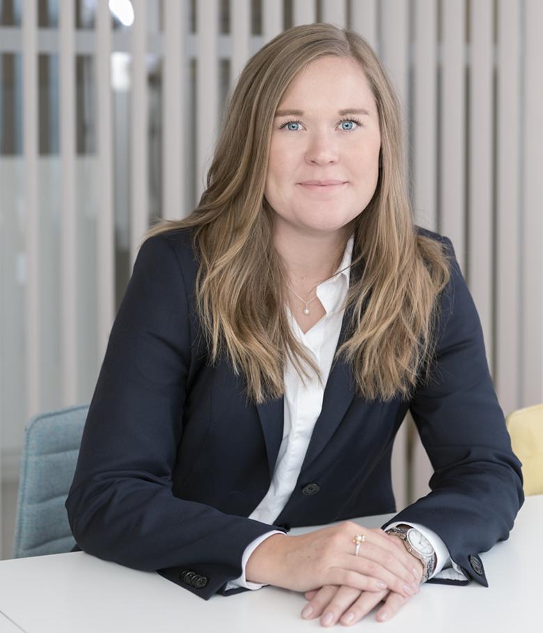 Foto på Beata Fahlvik jurist på Front Advokater