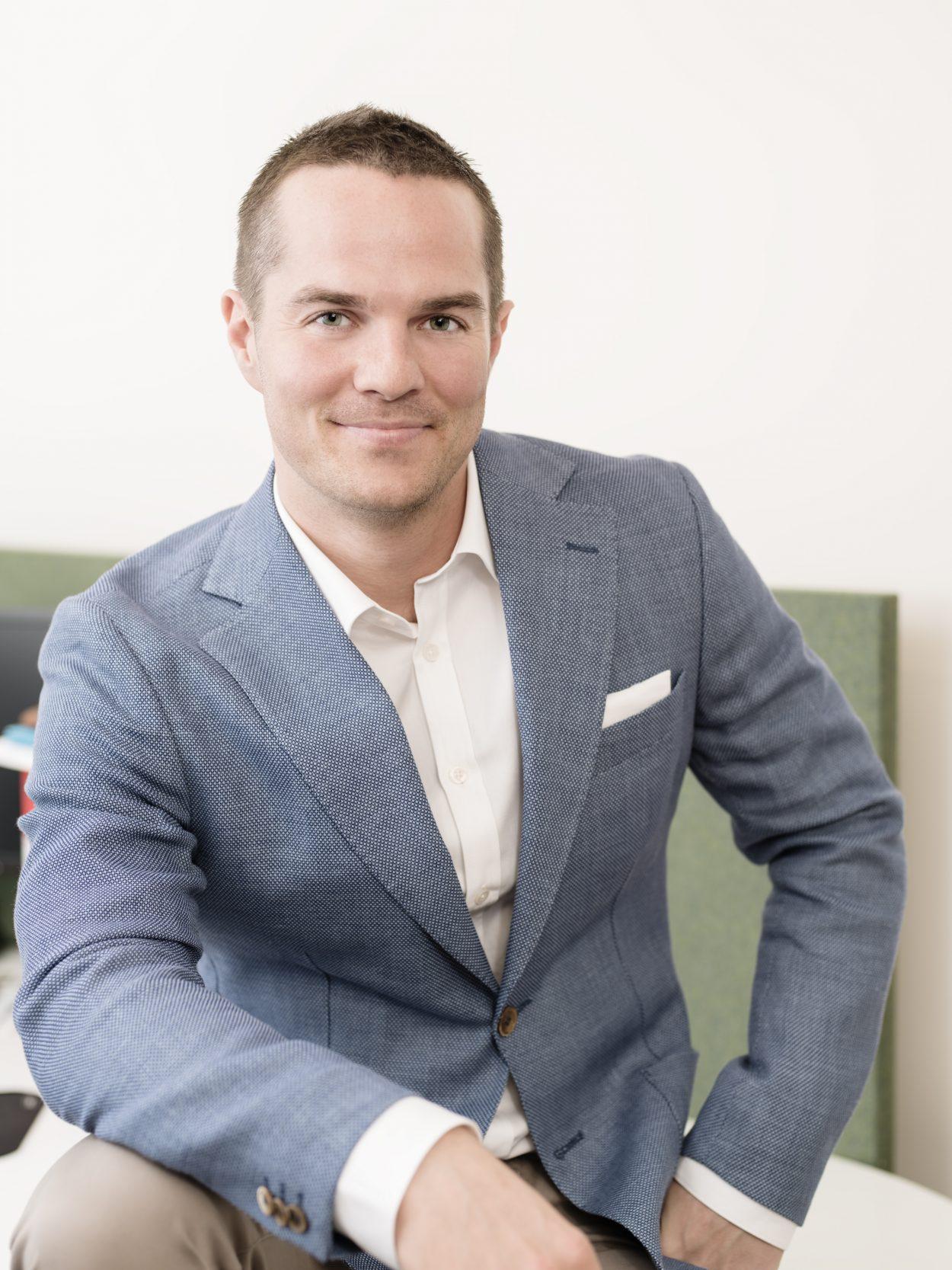 Foto på Johan Utternäs advokat på Front Advokater