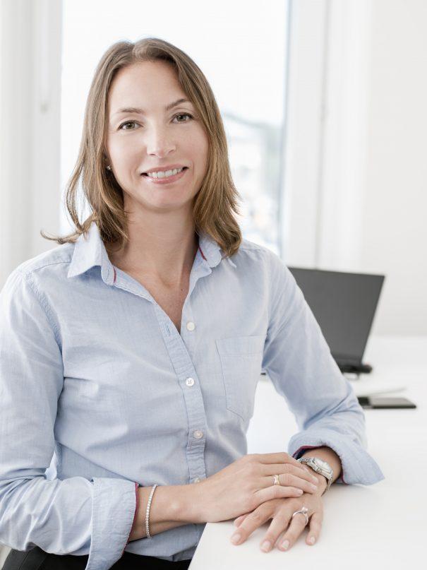 Foto på Malin Wikström advokat på Front Advokater