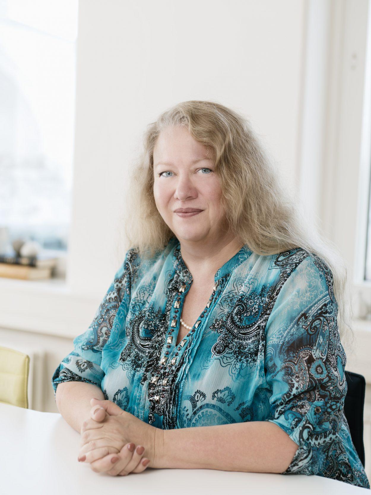 Foto på Marie Andersson juristassistent på Front Advokater