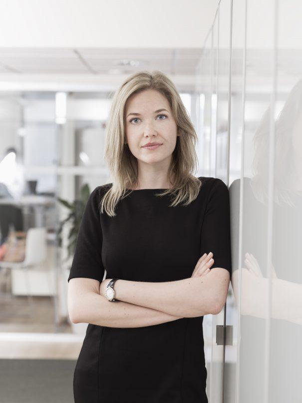 Foto på Mimmi Nordling jurist på Front Advokater