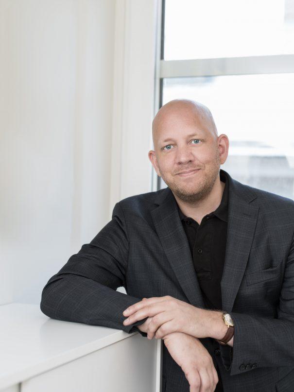 Foto på Petter Holm advokat på Front Advokater