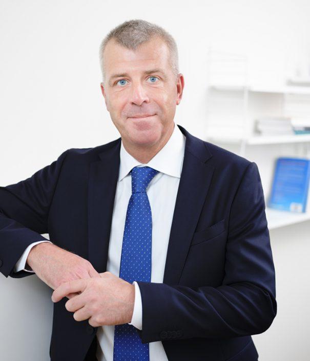 Foto på Ulf Mellqvist advokat processrätt på Front Advokater