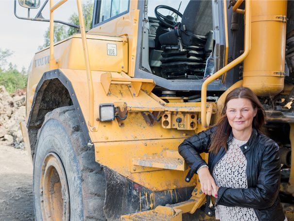 Foto på Maria Paijkull advokat på Front Advokater