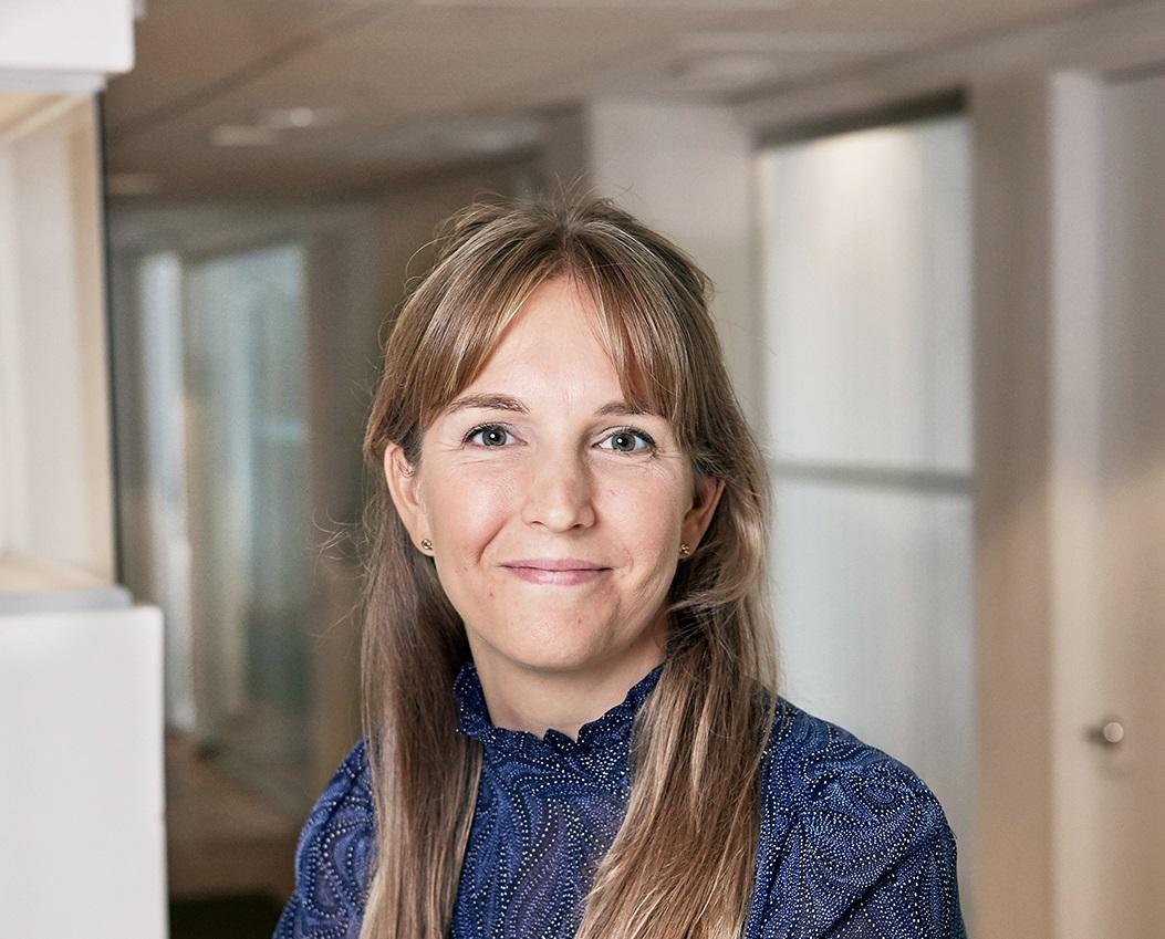 Entreprenadrättaren Sofia Sandholm